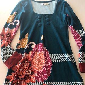 Anthropologie Ayreh long sleeve sweater dress
